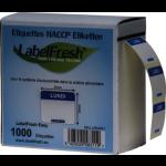 1000 LABELFRESH LABELS EASY -30X25MM- LUNDI