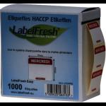 1000 LABELFRESH LABELS EASY -30X25MM- MERCREDI